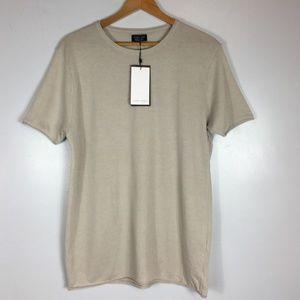 c7ff2bc1 Zara Shirts | Man Gray Short Sleeve T | Poshmark